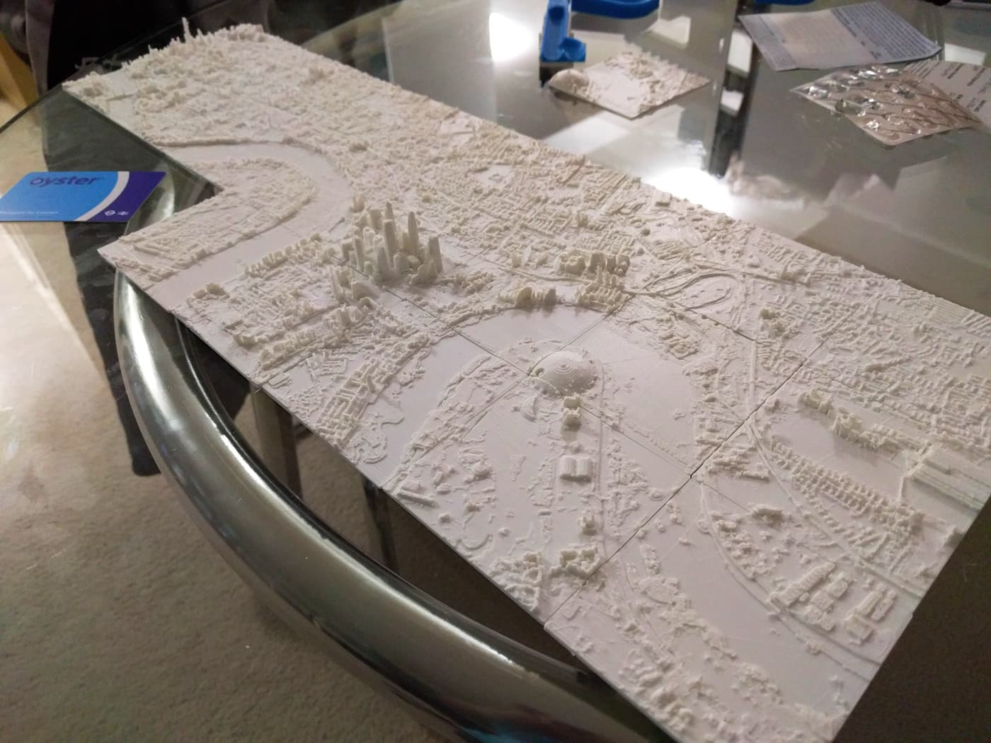 photo about 3d Printable D&d Miniatures identify 3D Released Map of London Inside the Scan