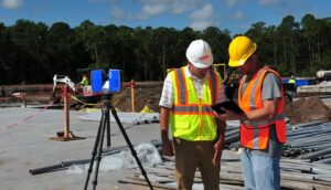 FARO Scanner on site