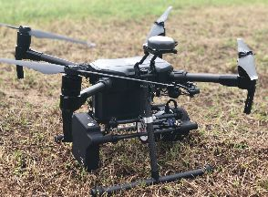 photo of UAS Lidar