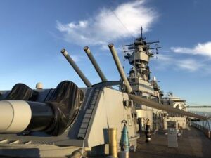 Photo of 3D Documentation of USS Iowa'a Main Turret