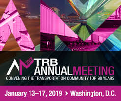 logo for TRB 2019 Annual Meeting