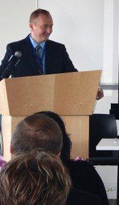 Picture of Jon at Geospatial Career Seminar