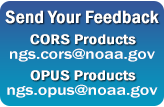 CORS and OPUS Feedback