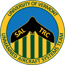 logo for ARE - AirShark Teams with UVM SAL