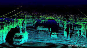 image of point cloud from Automotive Lidar