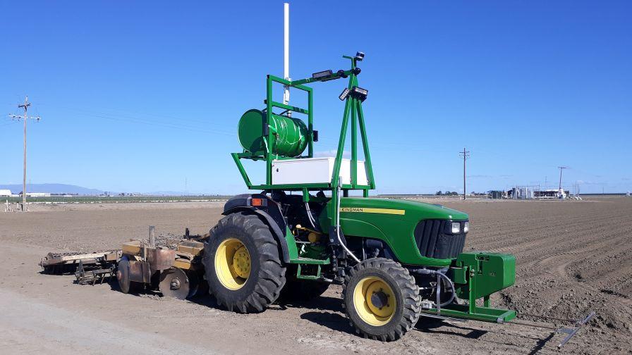 image of Autonomous Farm Tractor