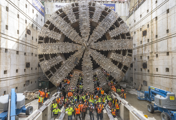 Photo of TBM - Tunnel Surveying Requires the Ultimate in Accuracy Specifications