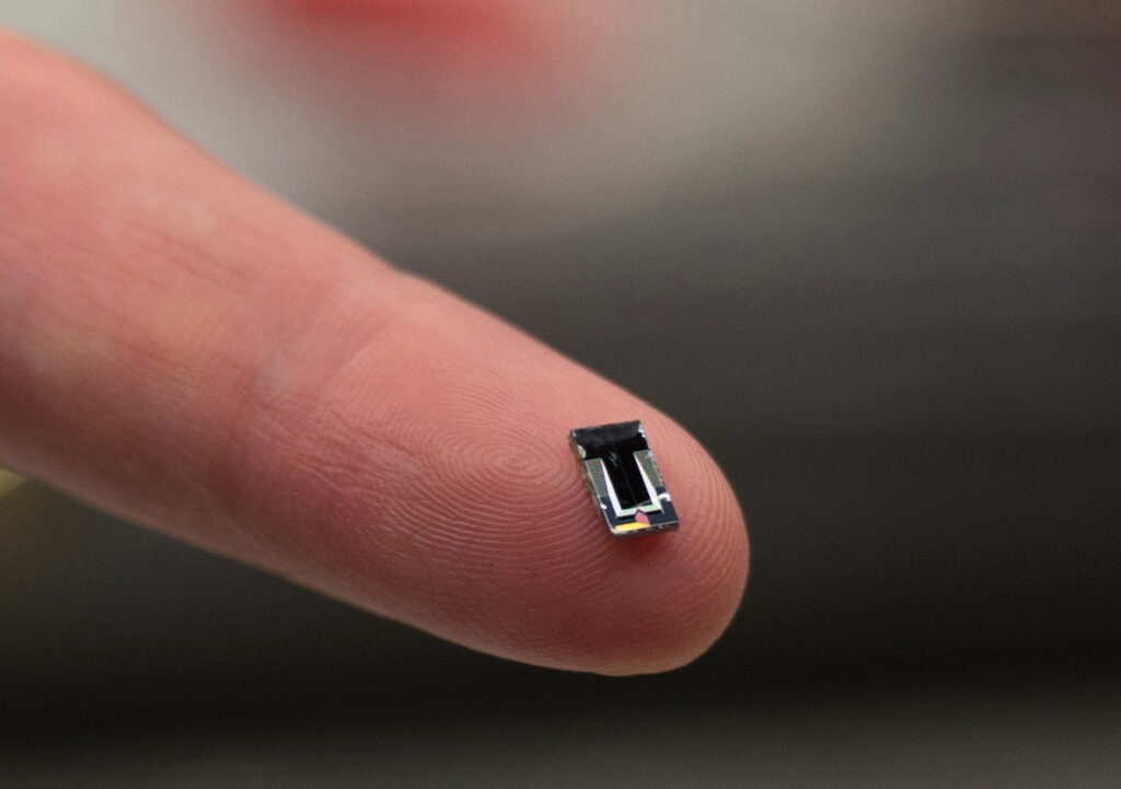 Image of Silicon Photonics Lidar Sensor.