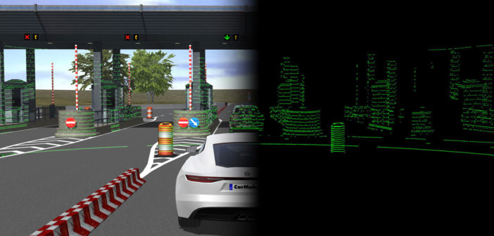 image of Virtual Testing of Lidar Sensors