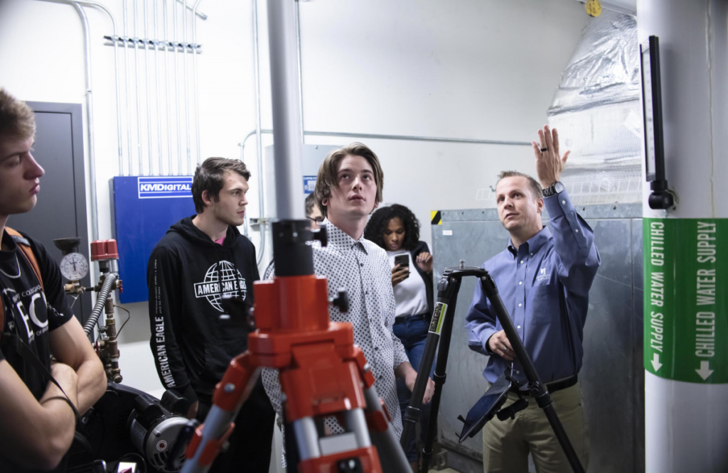 Photo of STEM Students Learn About Lidar