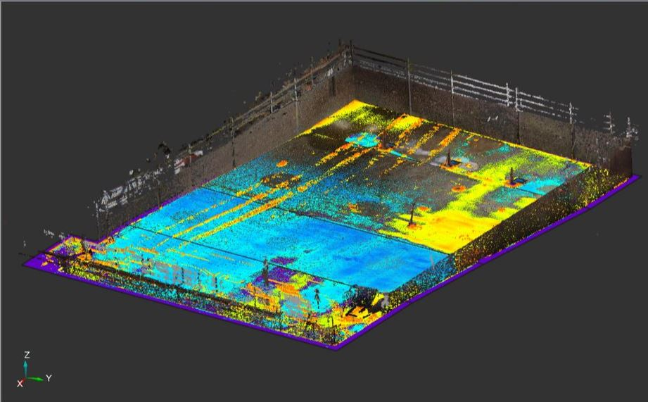 image of pool Digital Construction Verification Supported by FARO
