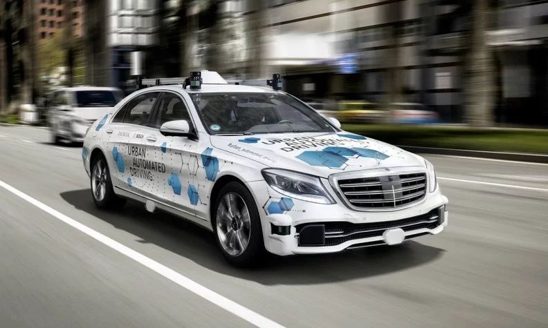 Photo of Daimler is Testing Robo Taxis in San Jose.