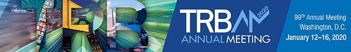 Logo for TRB 2020 January 12 - 16