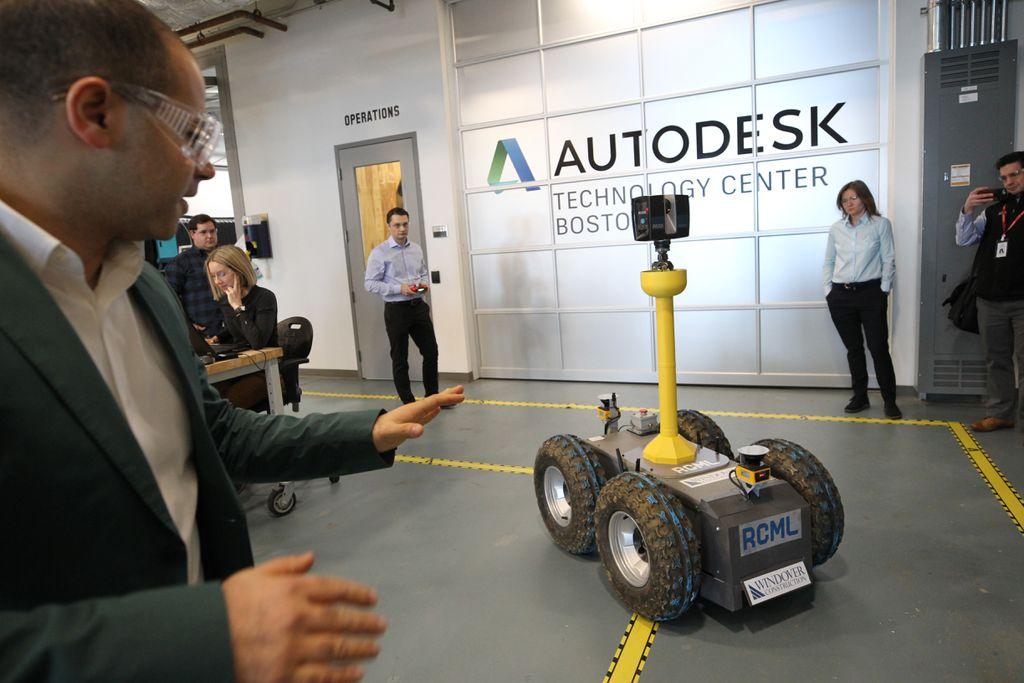 Photo of Boston Startup Builds Laser Scanning Robot