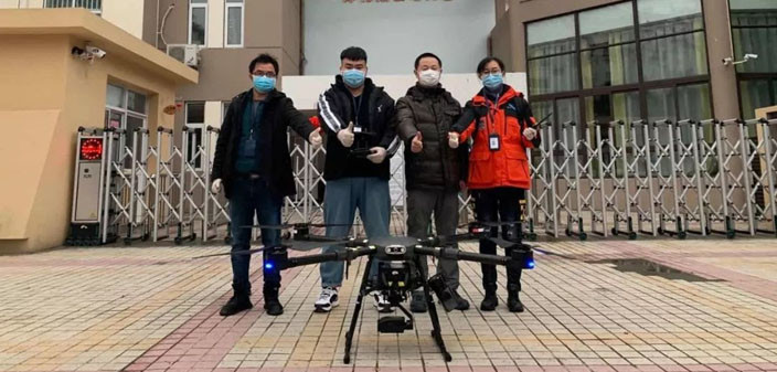 Photo of Drones Can Be Used to Sanitize Areas