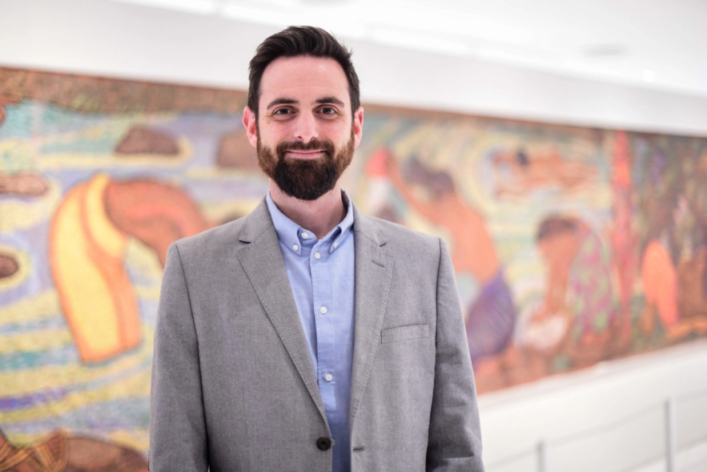 Photo of Google Arts and Culture Head of Preservation Chance Coughenour