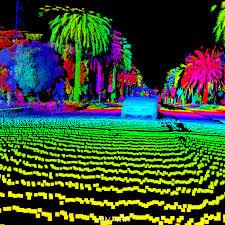 point cloud image Fully Autonomous Vehicles Use Lidar