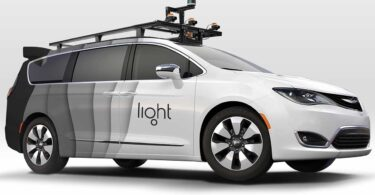 image of vehicle with Depth Camera May Outperform Lidar